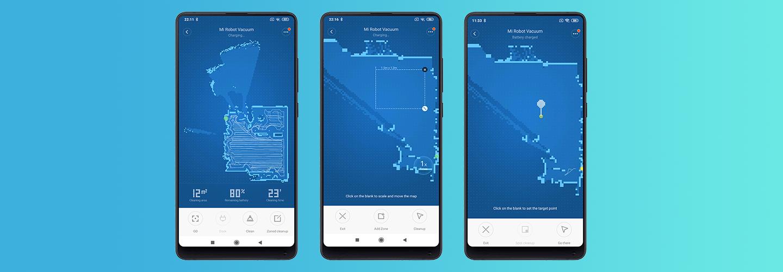 Xiaomi Mi Robot Vacuum - Mi Home app