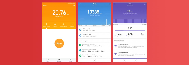 Xiaomi Mi Band 3 - Mi Fit App