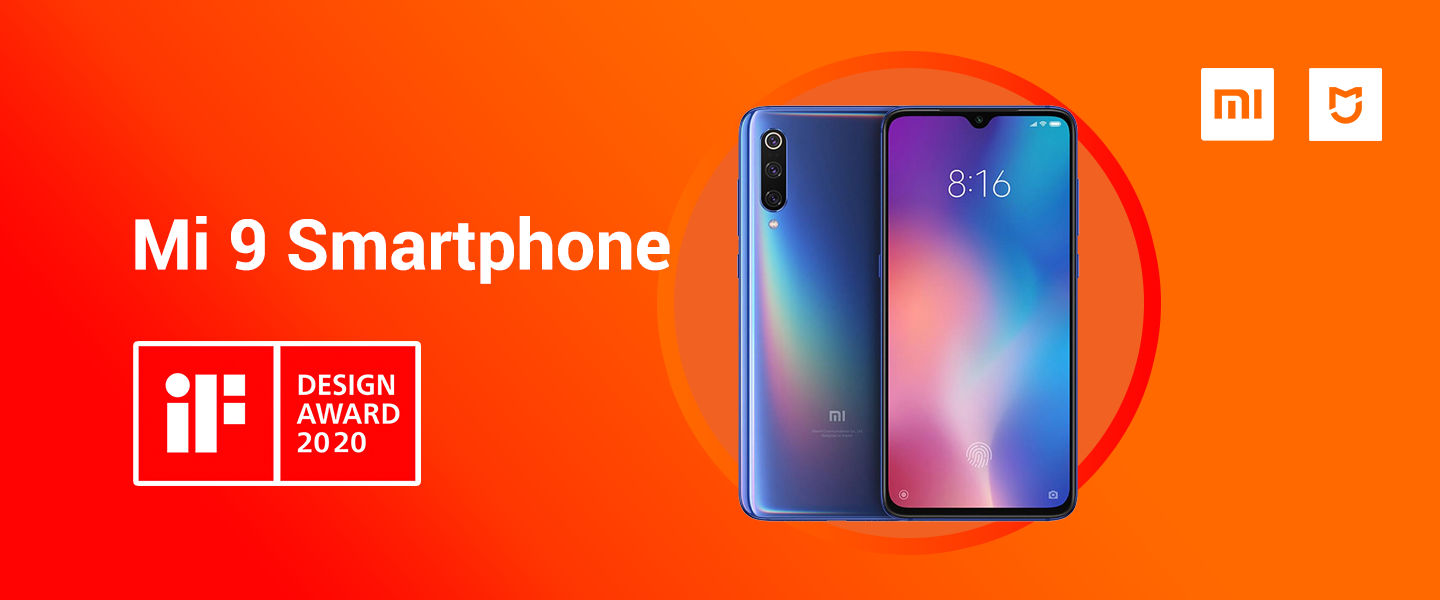 Mi 9 Smartphone wins iF Design Award 2020