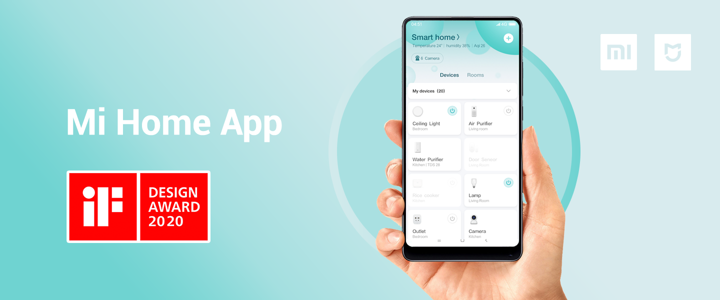 Mi Home App wins iF Design Award 2020