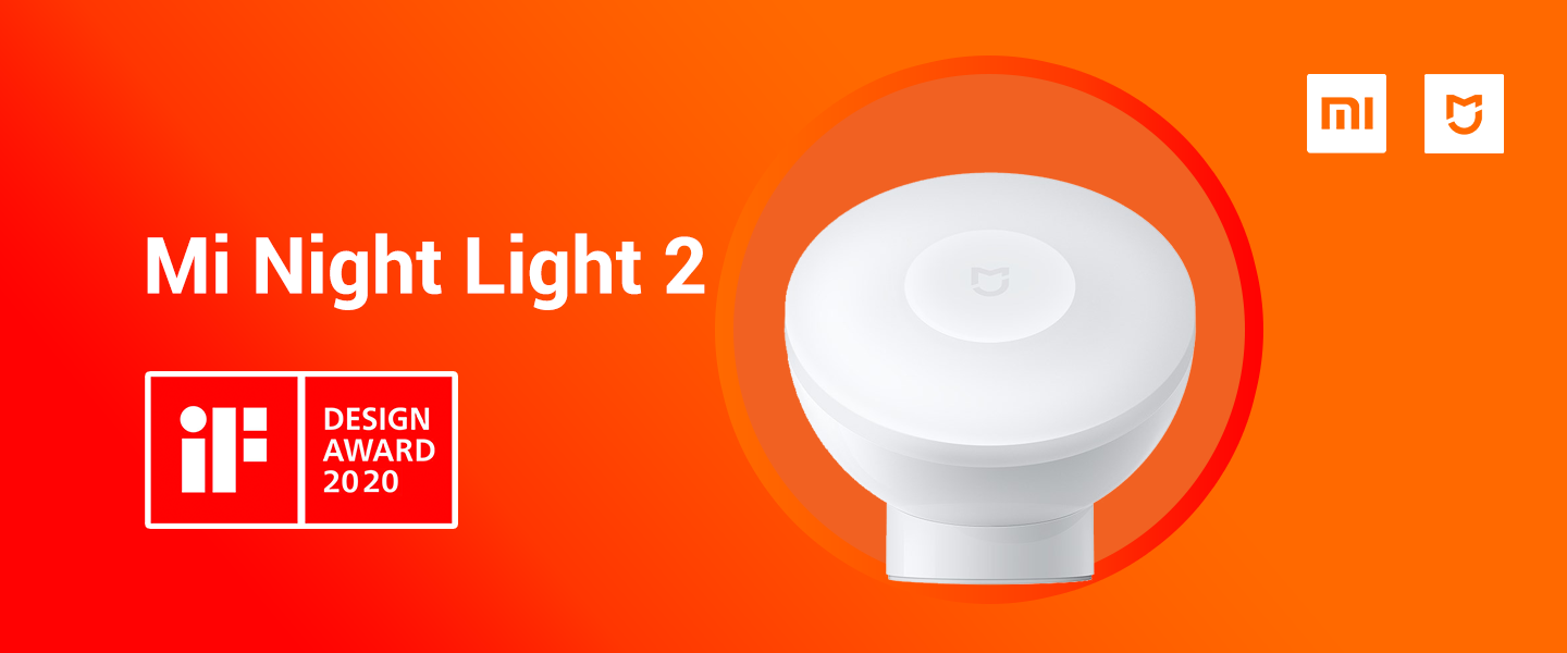 Mi Night Light 2 wins iF Design Award 2020